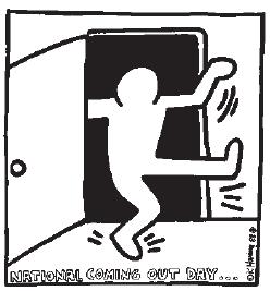 Keith Haring-salir del armario