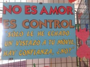 EL AMOR NO ES CONTROL