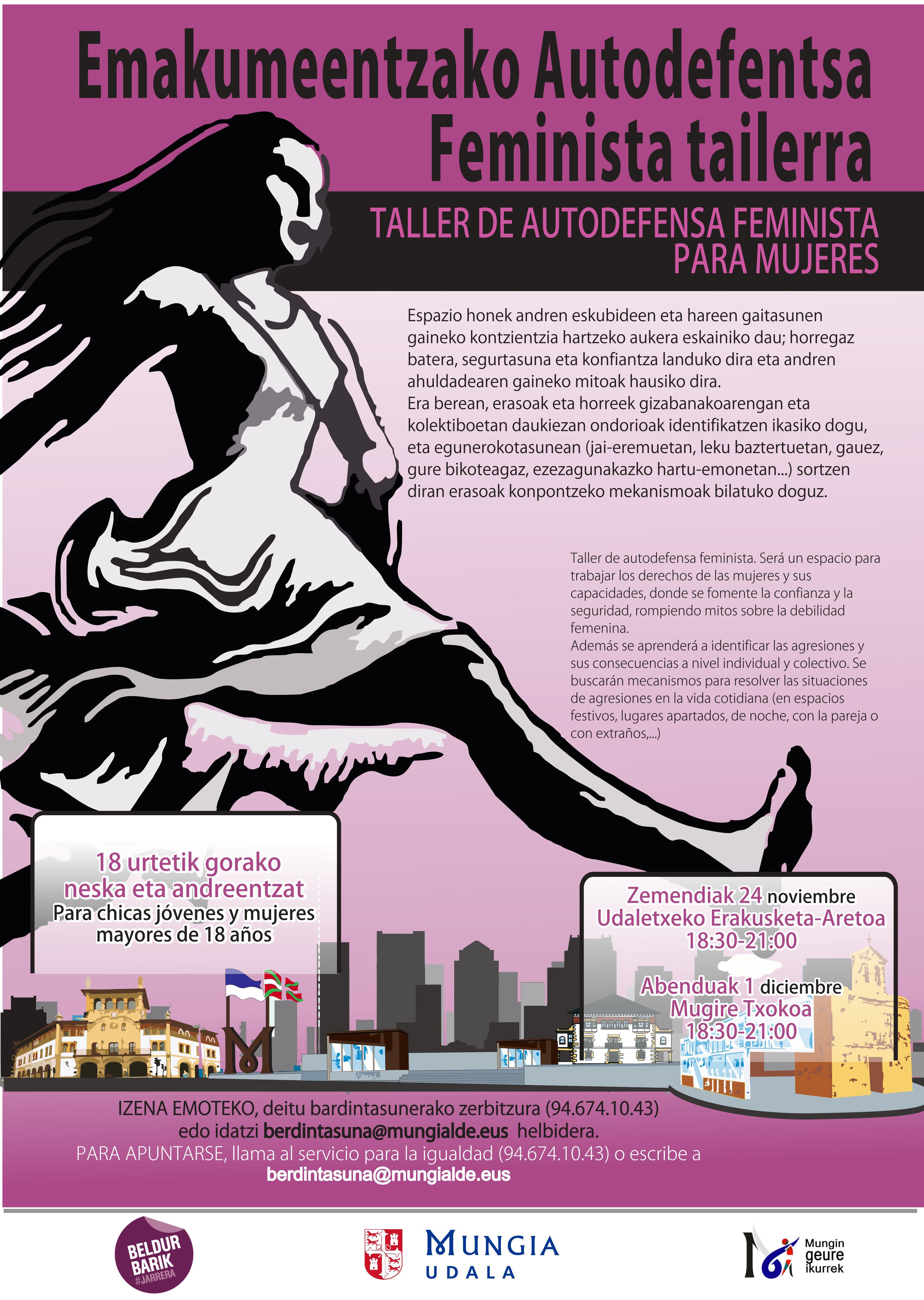 TALLER PARA AUTODEFENSA FEMINISTA EN MUNGIA