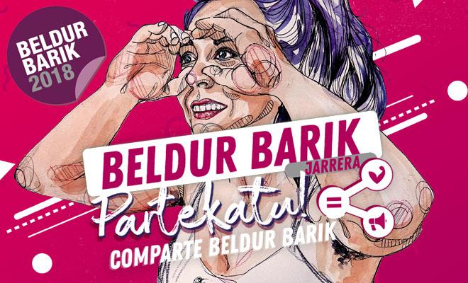 Arranca la edición 2018 del programa Beldur Barik con un concurso audiovisual para chicas y chicos