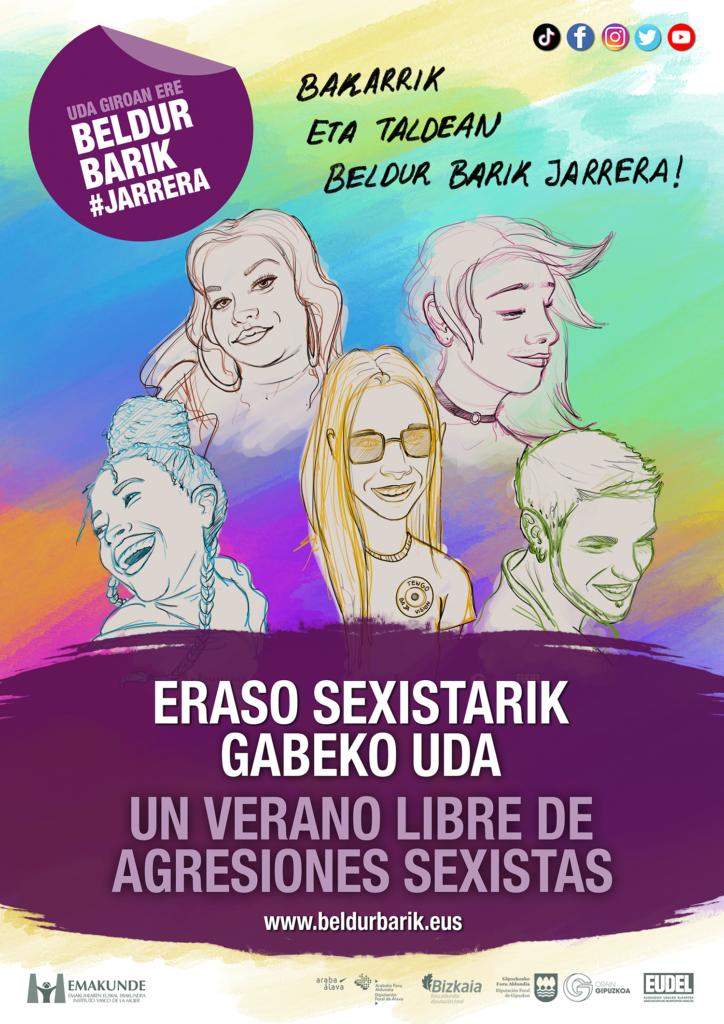 Eraso sexistarik gabeko uda | un verano libre de agresiones sexistas