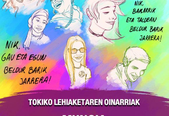 MUNGIAKO BELDUR BARIK TOKIKO LEHIAKETA 2020