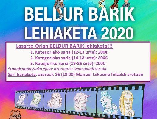 LASARTE-ORIA. GANADORES DEL CONCURSO BELDUR BARIK 2020