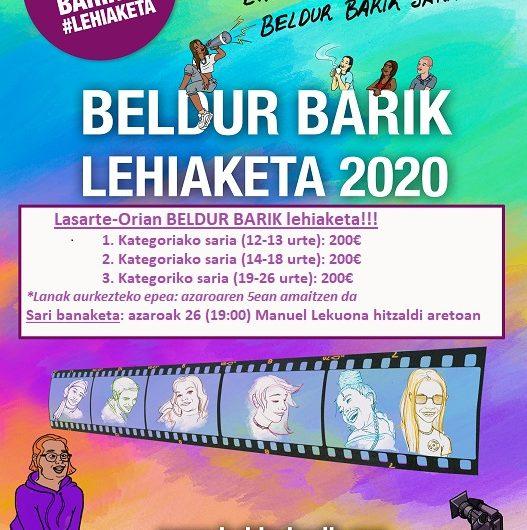 LASARTE-ORIA. BELDUR BARIK 2020 LAN SARIDUNAK