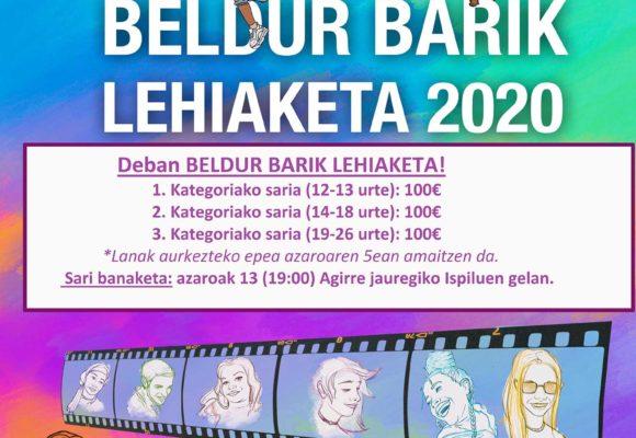 DEBA. TRABAJOS GANADORES BELDUR BARIK 2020