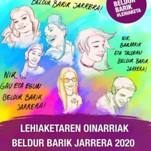 UROLA-GARAIA. BELDUR BARIK 2020 LAN SARIDUNAK