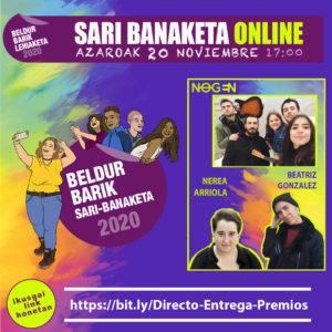 ENTREGA DE PREMIOS DEL CONCURSO BELDUR BARIK 2020
