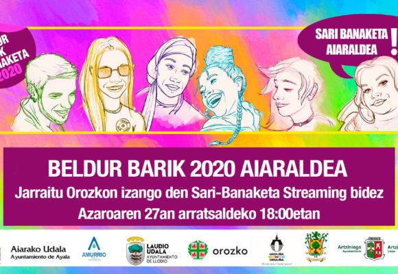 AIARALDEA. TRABAJOS GANADORES BELDUR BARIK 2020